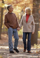 Couple holding hands Excess Weight Loss